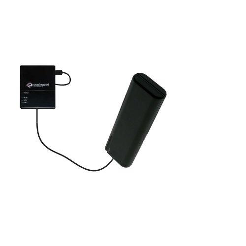 Caricabatterie AA di emergenza portatile compatibile con Cradlepoint CTR350 Cellular