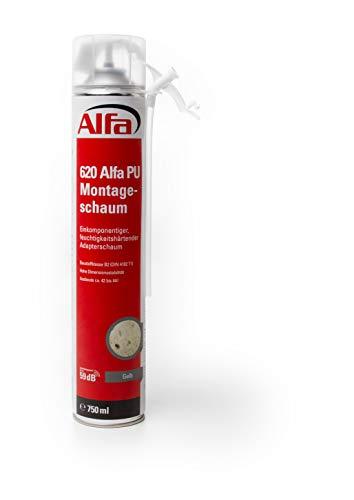 1x Einkomponentiger, feuchtigkeitshärtender Adapterschaum, Montageschaum, 750 ml Dose (1x 750 ml)