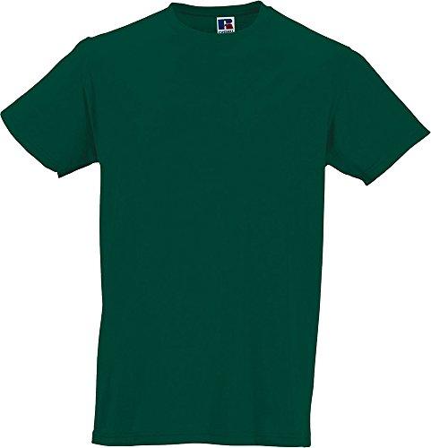 NEW Russell da uomo lungo Slim Fit da uomo WEAR maniche corte cotone T-shirt