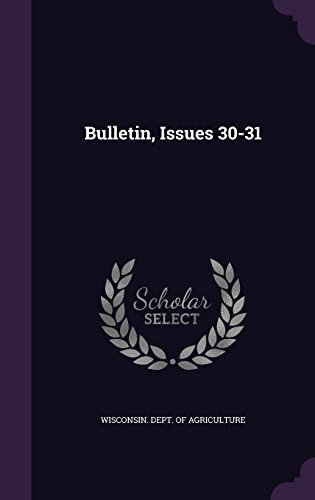 Bulletin, Issues 30-31