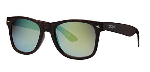 Zippo Flash Mirror Lens Sonnenbrillen, braun, M
