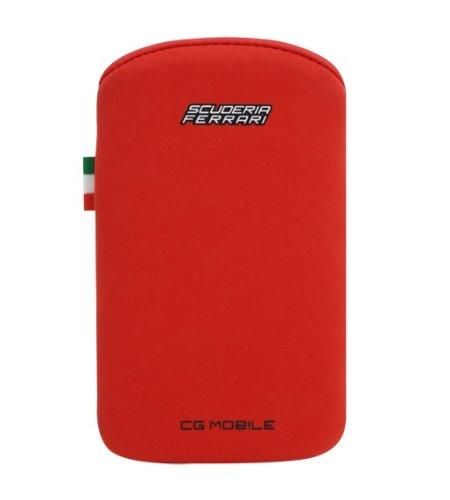Scuderia Ferrari FENUV1RE Housse de protection pour iPhone Rouge Rouge