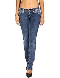 dcd0688d85 Meltin Pot - Jeans Vaquero para Mujer Monie W - Slim Push-
