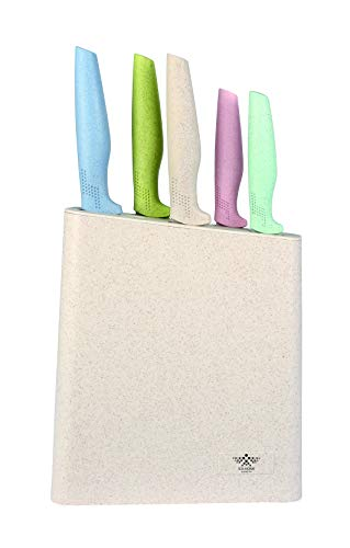 ICA-HOME | Set de cuchillos 5 Piezas + Tacoma|Cuchillo de Chef, Cuchil