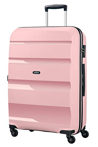 American Tourister Bon Air, Spinner Large Valigia, 75 cm, 91 liters, Rosa (Cherry Blossoms)