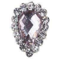 Beauty7 Nail Art 10Pcs Strass Bijoux 3D Premium Alliages Glitter Pour Ongle Manucure