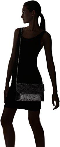 Bulaggi Damen Lanny Clutch, 04x17x28 cm Schwarz (Schwarz)