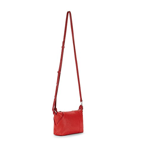 Kipling , Borsa Messenger  Unisex, Schwarz (Hot Black Perfo) (Nero) - K14851 Rot (Hot Red Perfo)