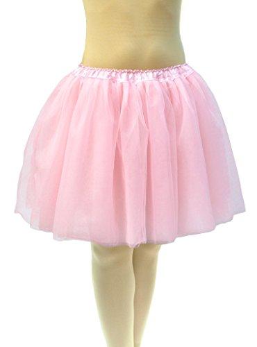 Dancina Damen Tüllrock Ballett Tutu Petticoat JGA XL [Sticker XXL] Rosa Gr. ()