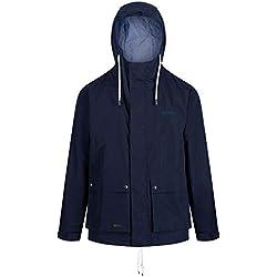Regatta Men's Herrick Waterproof and Breathable Hooded Outdoor Jacket, Navy, Size XXXL