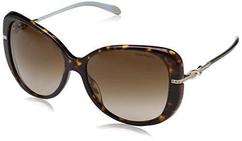 Tiffany & Co. Damen 0TY4126B 81343B 57 Sonnenbrille, Braun (Havana/Browngradient),