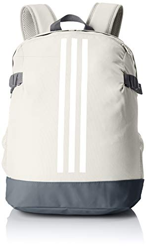 adidas BP POWER IV M - Zaini Unisex Adulto, Multicolore (Blapur/Blanco/Blanco), 24x36x45 cm (W x H L)