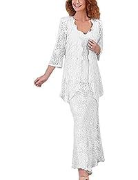 Suchergebnis Auf Amazon De Fur Hosenanzug Damen Hochzeit Weiss