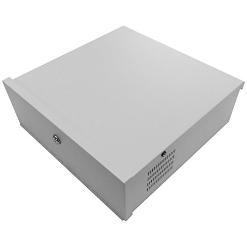 Dvr Security Lock Box (Maxx Digital MD-DVRBOX-15 CCTV DVR Security Lock Box 15 White (Small) by MAXX Digital)