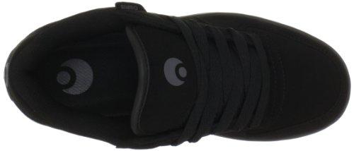 Osiris Relic, Sneaker Uomo Nero (Black/Charcoal/Black)