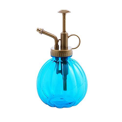 Unicoco acqua pulvérisée bottiglia stile vintage stampa trasparente tipo Annaffiatoio piccola zucca pianta Vaporizzatore Vaso viola