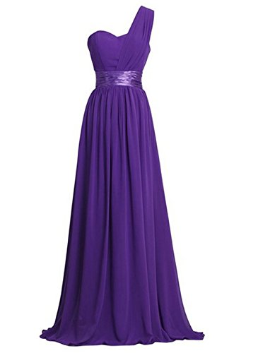 Women's Chiffon One Shoulder Bridesmaids Dresses