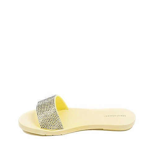 Ideal Shoes ,  Infradito donna Giallo