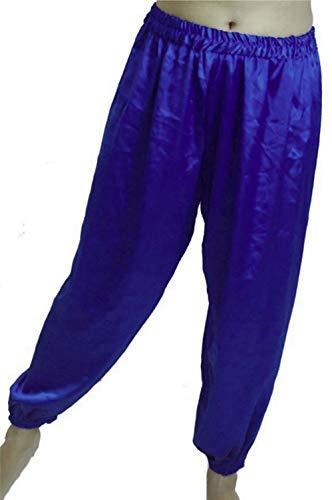 Bauchtanz Haremhose für Tanzen Tribal Dancer Kostüm Yoga New M L, Purpley ()