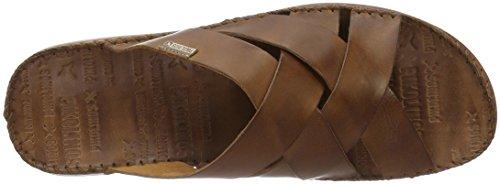 Pikolinos Tarifa 06j, Pantofole Uomo Marrone (Cuero)