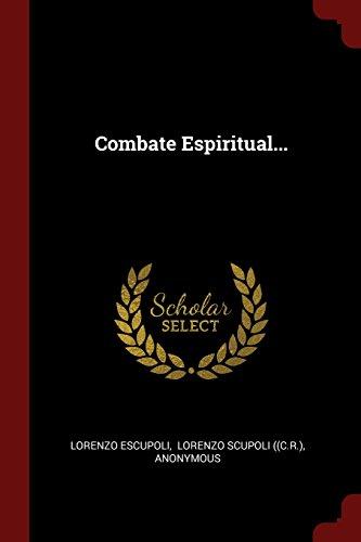 Descargar Libro Combate Espiritual... de Lorenzo Escupoli