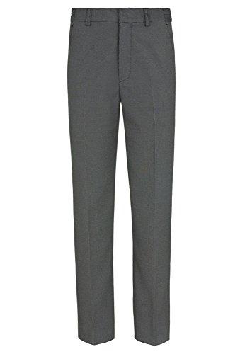 Gato Negro Graue Anzug-Hose - Gr. 128-176 Kinder,Jungen,Hose grau,lang,festlich,Fest,schick dunkelgrau,134