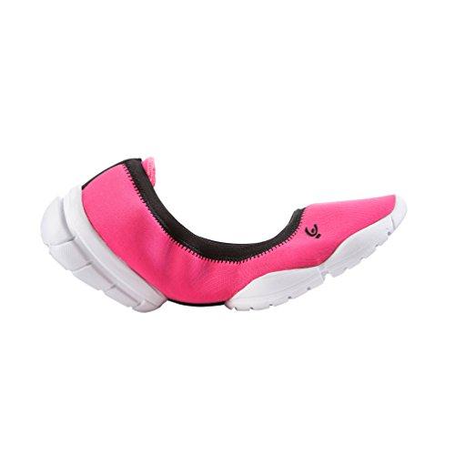 FREDDY 3pro Ballerina - Scarpe Sportive Indoor Donna, Rosa (Pink F), 40.5 EU