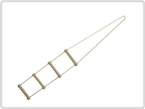 Bettleiter, Strickleiter, Aufrichtehilfe 285 cm lang Kunststoff *Top Qualität zum Top Preis*