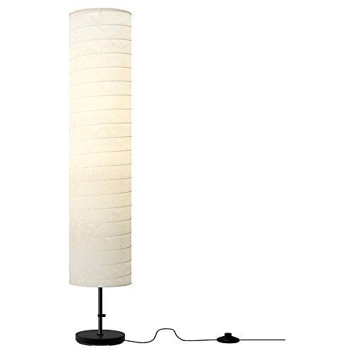 ikea-30184173-holmo-floor-lamp-metal-beige-46-inch