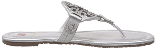 Högl 1- 10 0901, Tongs femme Argent - Silber (7600)