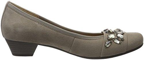 Gabor Shoes Basic, Scarpe con Tacco Donna Grigio (kiesel 12)