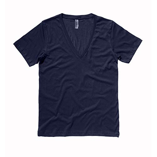 Bella CanvasHerren T-Shirt Blau Midnight -