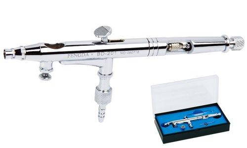Preisvergleich Produktbild Airbrush Spritzpistole Fengda® BD-201 mit der Düse 0,2 mm