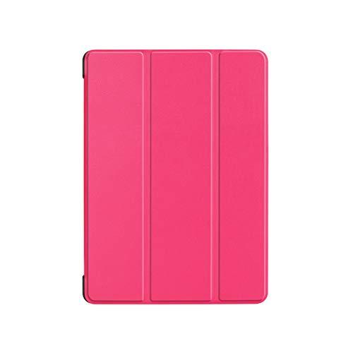 Preisvergleich Produktbild LEDMOMO Trifold Ledertasche Smart Cover Tablet PC Shell für Acer Chrom Buch Tab 10 (Rosy)