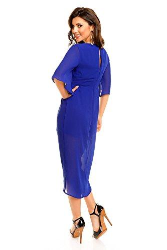Mayaadi - Robe - Femme royal blau (Sw 59)