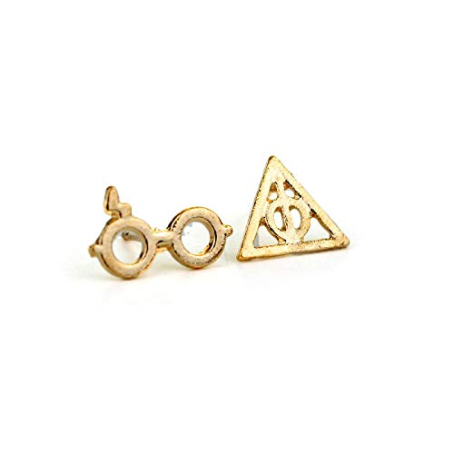 Ohrringe Ohrringe Ohrringe European And American Jewelry Fashion Harry Potter Brillen Ohrringe