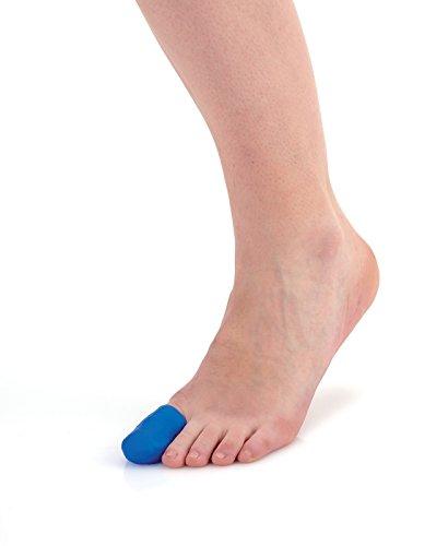 Sidas Erwachsene Gel Cap Gelkapseln Toe, Blau, 36/41