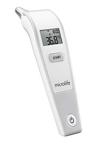 Microlife IR-150 Microlife IR 150 Infrarot-Ohrthermometer, Ergebnis in 1 Sekunde, mit großem, beleuchteten Display