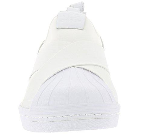 adidas Superstar Slipon, Chaussures de sport homme Blanc (Footwear White/footwear White/footwear White)