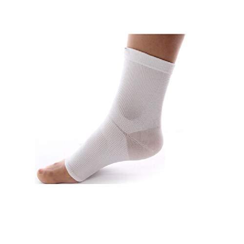 WM Home Atmungsaktive Knöchelsportarten Feste Knöchel Laufen Männer und Frauen Knöchelbandage Hohe Elastische Fußknöchel Weiß Single