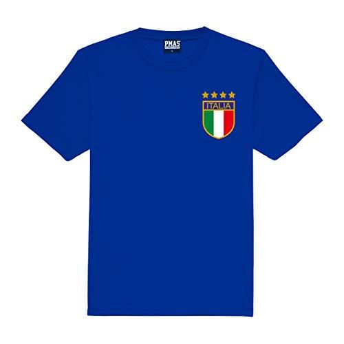 Kids Customisable Italy Italia Azzurri Style Football Shirt