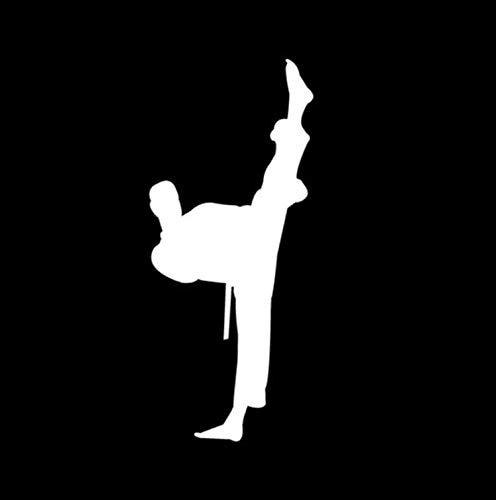 ZZYQING 6X14 CM Chinesischen Kung Fu Legende Karate Zeichen Auto Aufkleber Aufkleber Fenster Dekoration Auto Aufkleber Und Abziehbilder