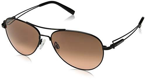 Serengeti Eyewear Sonnenbrille Brando, Satin Black, M, 7887