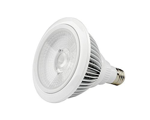 TechAffect® Luz de crecimiento–21W lámpara LED de Cultivo Hidropónico (E27, rosca Edison)–Grande...