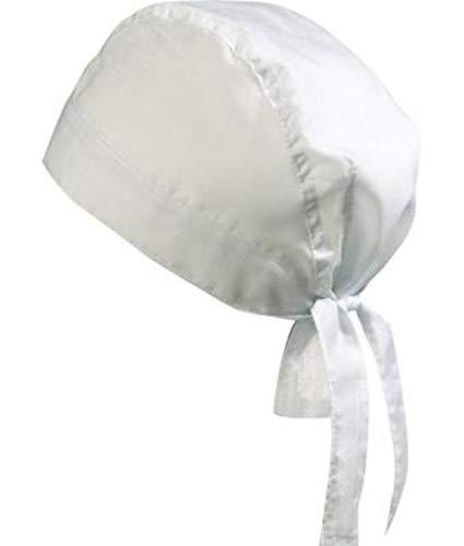 noTrash2003 Design Bandana Cap Mütze Kopftuch verschiedene Farben für Sport und Freizeit (White)