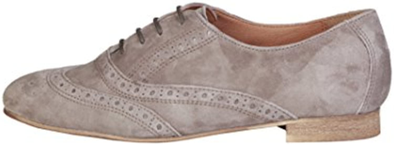 Pierre Cardin Damen 1140204 Echtes Leder Oxford In Brogue