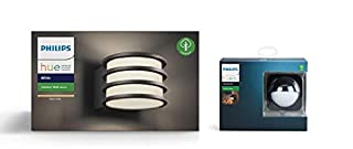 Philips Hue Lucca White LED Smart Outdoor Wall Light + Outdoor Motion Sensor Bundle. Works with Alexa, Google Assistant and Apple HomeKit (B07NW7HHRW) | Amazon price tracker / tracking, Amazon price history charts, Amazon price watches, Amazon price drop alerts