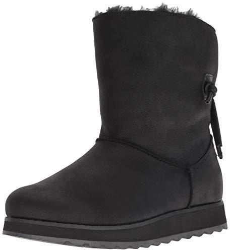 Skechers Damen Keepsakes 2.0 Kurzschaft Schlupfstiefel, Schwarz (Black Blk), 36 EU Blk Pu Shoe