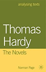 Thomas Hardy: The Novels (Analysing Texts) by Norman Page (2001-08-07)