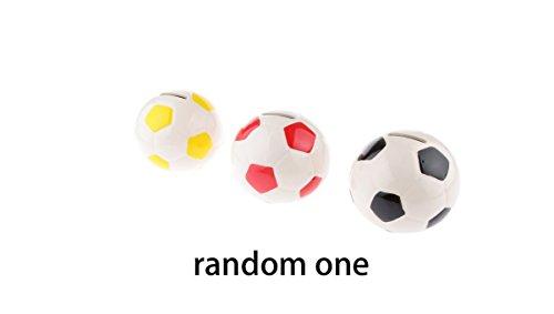 Zcsmg fútbol forma caja dinero Hucha niños regalos